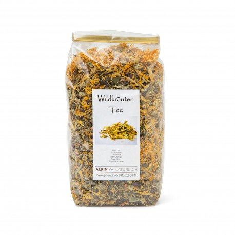 Tisane aux herbes sauvages